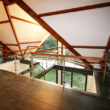 escalier-potier00135 - passerelle verre