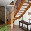 escalier traditionnel bois - île Piren
