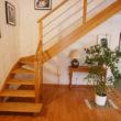 escalier bois - île Pladic