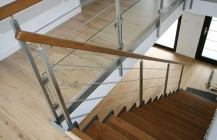 île Lannic inox, Escalier Moderne