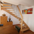 escalier suspendu - île Berder