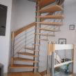escalier hélicoïdal - île Berder