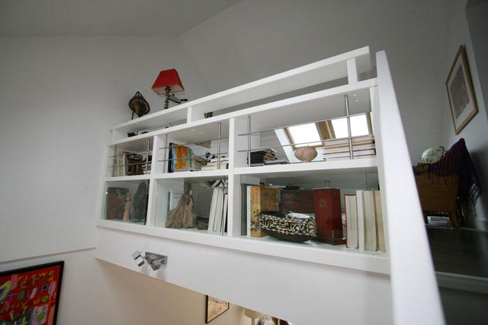 escaliers biblioth ques. Black Bedroom Furniture Sets. Home Design Ideas