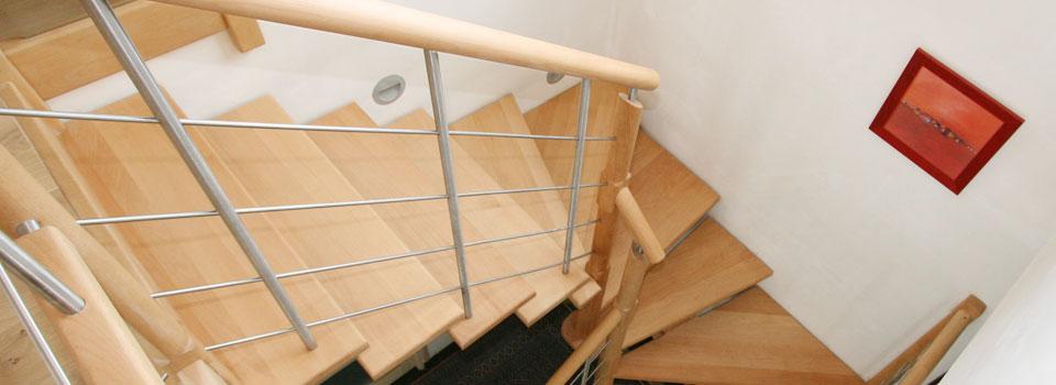 escaliers bois et tendance