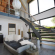 escalier moderne - île Irus