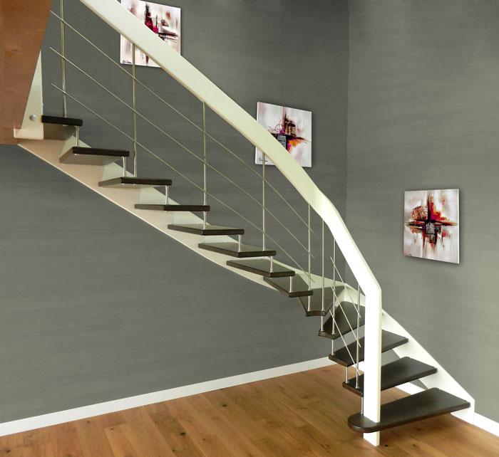 escalier suspendu le boedic with escaliers potier. Black Bedroom Furniture Sets. Home Design Ideas
