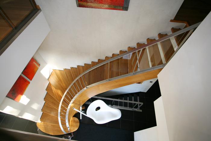 escalier design et tradition