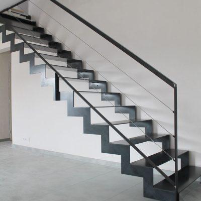 escalier metallique à Savenay